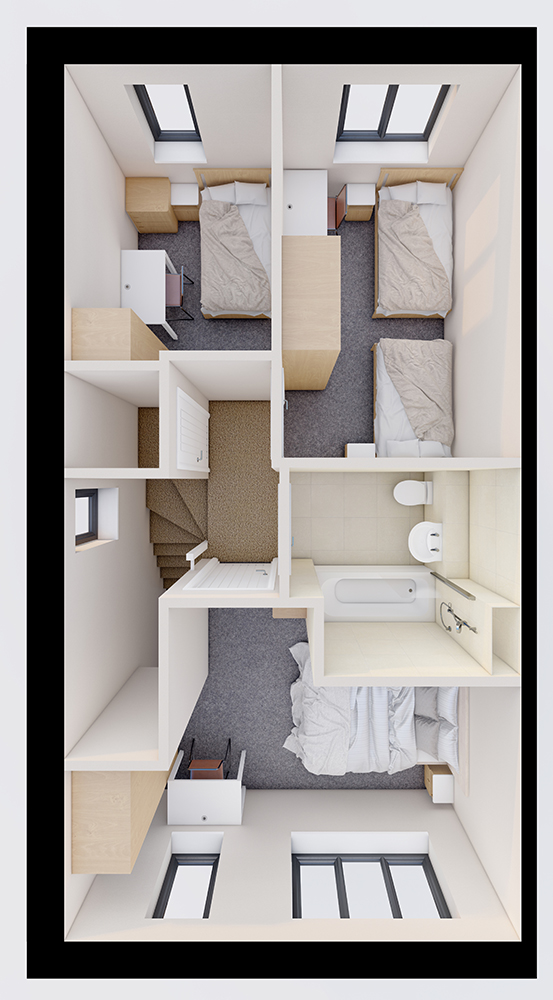 the haven - @82m2 First Floor plan